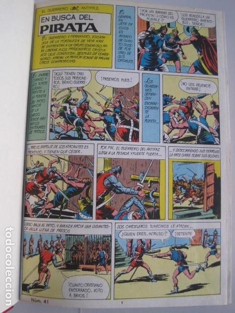 Tebeos: CÓMICS EL GUERRERO DEL ANTIFAZ. COLECCIÓN COMPLETA. ED. VALENCIANA. PUBLICACIÓN JUVENIL. 1972. - Foto 42 - 225759665