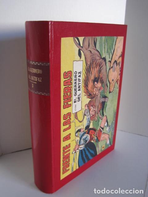 Tebeos: CÓMICS EL GUERRERO DEL ANTIFAZ. COLECCIÓN COMPLETA. ED. VALENCIANA. PUBLICACIÓN JUVENIL. 1972. - Foto 44 - 225759665