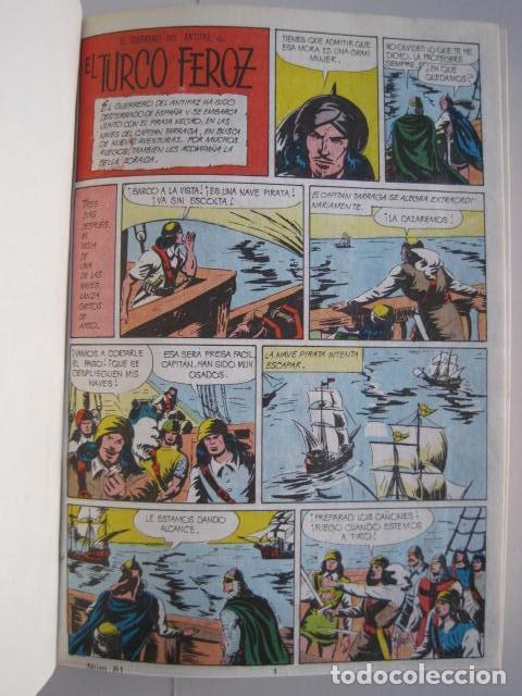 Tebeos: CÓMICS EL GUERRERO DEL ANTIFAZ. COLECCIÓN COMPLETA. ED. VALENCIANA. PUBLICACIÓN JUVENIL. 1972. - Foto 51 - 225759665