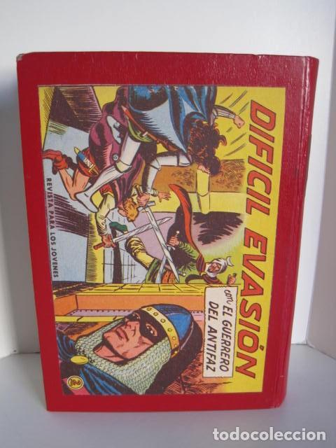 Tebeos: CÓMICS EL GUERRERO DEL ANTIFAZ. COLECCIÓN COMPLETA. ED. VALENCIANA. PUBLICACIÓN JUVENIL. 1972. - Foto 58 - 225759665