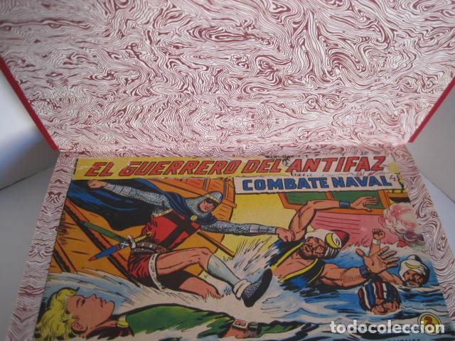 Tebeos: CÓMICS EL GUERRERO DEL ANTIFAZ. COLECCIÓN COMPLETA. ED. VALENCIANA. PUBLICACIÓN JUVENIL. 1972. - Foto 60 - 225759665
