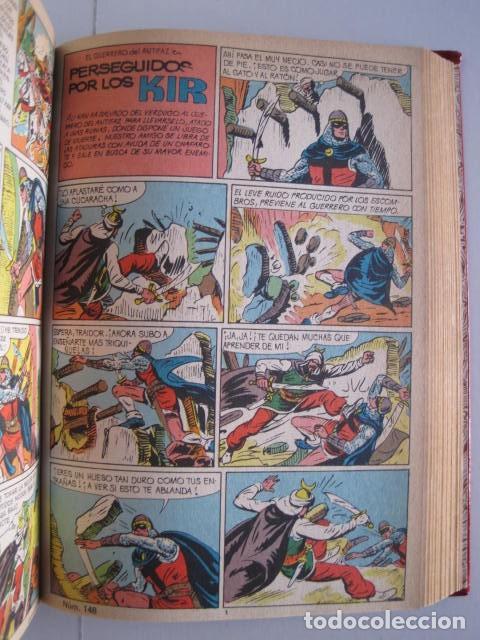 Tebeos: CÓMICS EL GUERRERO DEL ANTIFAZ. COLECCIÓN COMPLETA. ED. VALENCIANA. PUBLICACIÓN JUVENIL. 1972. - Foto 63 - 225759665