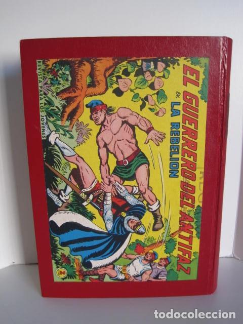 Tebeos: CÓMICS EL GUERRERO DEL ANTIFAZ. COLECCIÓN COMPLETA. ED. VALENCIANA. PUBLICACIÓN JUVENIL. 1972. - Foto 70 - 225759665