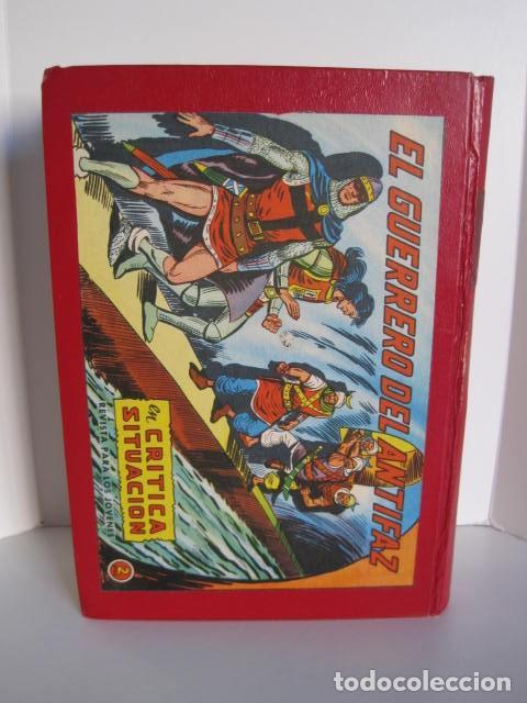 Tebeos: CÓMICS EL GUERRERO DEL ANTIFAZ. COLECCIÓN COMPLETA. ED. VALENCIANA. PUBLICACIÓN JUVENIL. 1972. - Foto 81 - 225759665