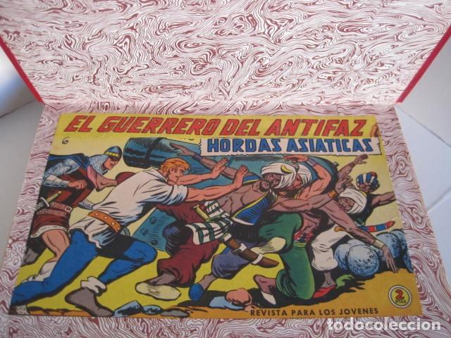 Tebeos: CÓMICS EL GUERRERO DEL ANTIFAZ. COLECCIÓN COMPLETA. ED. VALENCIANA. PUBLICACIÓN JUVENIL. 1972. - Foto 82 - 225759665