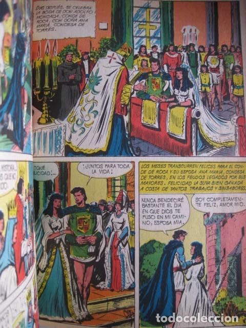 Tebeos: CÓMICS EL GUERRERO DEL ANTIFAZ. COLECCIÓN COMPLETA. ED. VALENCIANA. PUBLICACIÓN JUVENIL. 1972. - Foto 85 - 225759665