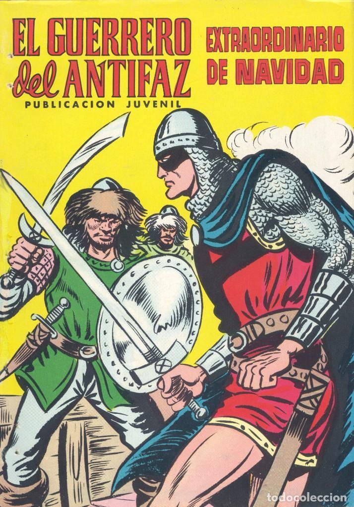 GUERRERO DEL ANTIFAZ. EXTRAORDINARIO DE NAVIDAD, 1975 (Tebeos y Comics - Valenciana - Guerrero del Antifaz)
