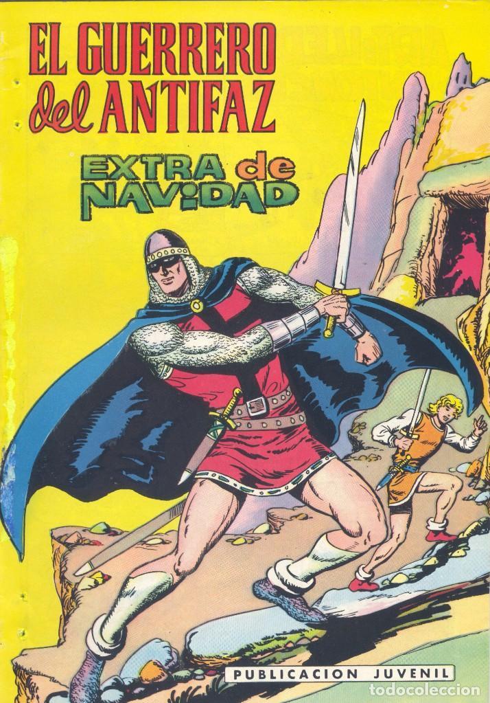 GUERRERO DEL ANTIFAZ. EXTRAORDINARIO DE NAVIDAD, 1976 (Tebeos y Comics - Valenciana - Guerrero del Antifaz)