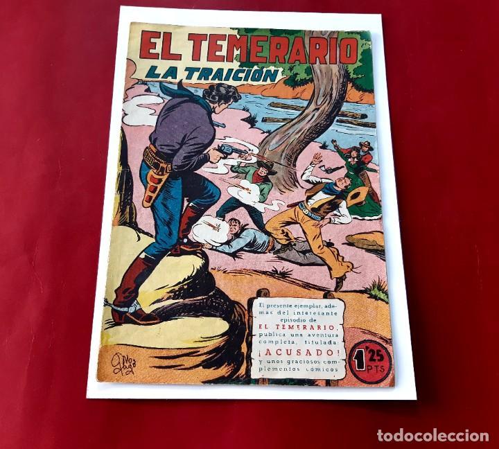 EL TEMERARIO Nº 29. VALENCIANA 1949 (Tebeos y Comics - Valenciana - Otros)