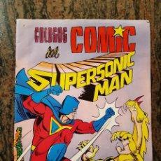Tebeos: COLOSOS DEL COMIC. SUPERMANSONIC MAN. PLANETA ZERO NUMERO 34.1979.. Lote 225883645