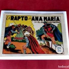 Tebeos: EL GUERRERO DEL ANTIFAZ Nº 38 -ORIGINAL-EXCELENTE ESTADO. Lote 226006457