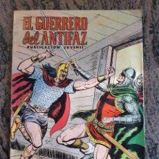Tebeos: COMIC EL GUERRERO DEL ANTIFAZ NUMERO 165. VALENCIANA. 1975.. Lote 226041468