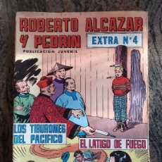 Tebeos: COMIC ROBERTO ALCAZAR Y PEDRIN. EXTRA NUMERO 4. VALENCIANA.. Lote 226042320