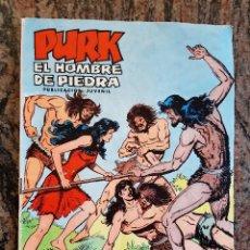 Tebeos: COMIC PURK EL HOMBRE DE PIEDRA NUMERO 26. LA ESTRATAGEMA DE PURK. EDIVAL 1974.. Lote 226055738