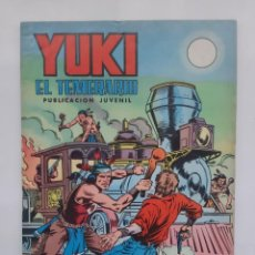 Tebeos: YUKI EL TEMENARIO Nº 3 LA SOMBRA DE YUKI VALENCIANA SELECCION AVENTURA. Lote 239352915