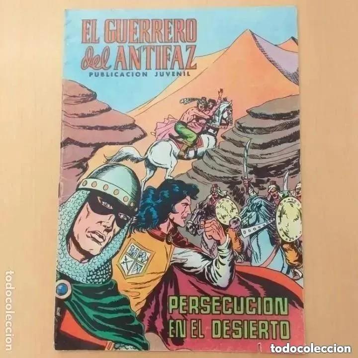 EL GUERRERO DEL ANTIFAZ - PERSECUCION EN EL DESIERTO. VALENCIANA NUM 127 (Tebeos y Comics - Valenciana - Guerrero del Antifaz)