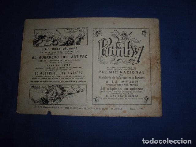 Tebeos: ROBERTO ALCAZAR Y PEDRIN Nº 680 - ORIGINAL - VALENCIANA. - Foto 2 - 226135740