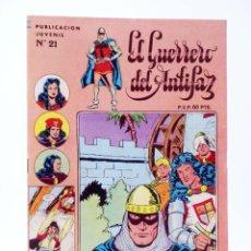 Livros de Banda Desenhada: EL GUERRERO DEL ANTIFAZ SERIE INÉDITA 21. UNA FAMILIA SINIESTRA (M. GAGO) VALENCIANA, 1984. OFRT. Lote 272159368