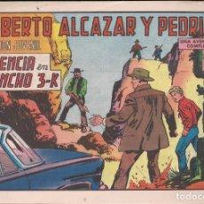 Tebeos: ROBERTO ALCAZAR Y PEDRIN Nº 1094: VIOLENCIA EN EL RANCHO 3-K. Lote 226342402