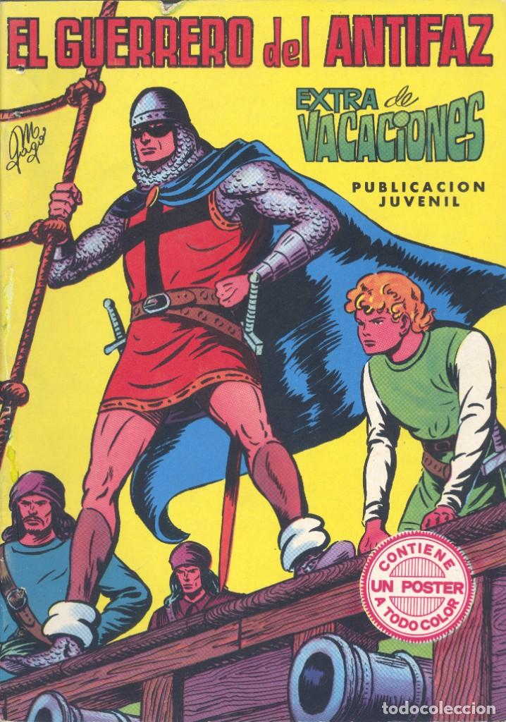 EL GUERRERO DEL ANTIFAZ. EXTRA DE VACACIONES (Tebeos y Comics - Valenciana - Guerrero del Antifaz)