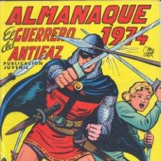 Tebeos: EL GUERRERO DEL ANTIFAZ. ALMANAQUE 1974. VALENCIANA, 1973. Lote 226344418