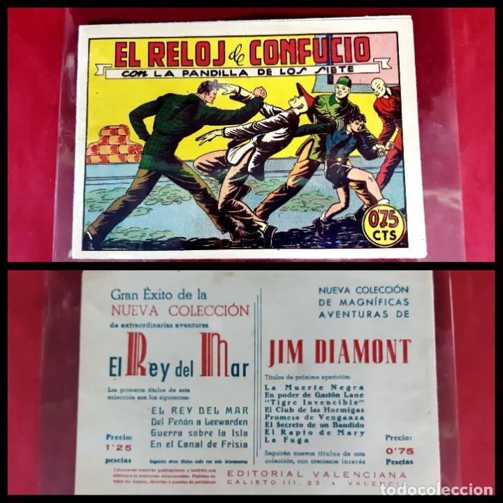LA PANDILLA DE LOS SIETE Nº 56 -ORIGINAL -EXCELENTE ESTADO (Tebeos y Comics - Valenciana - Otros)