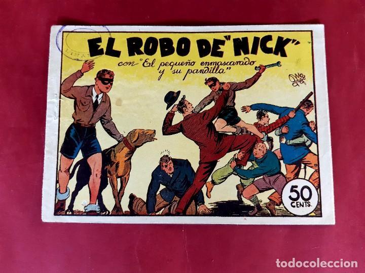 EL PEQUEÑO ENMASCARADO Y SU PANDILLA-Nº 3 -ORIGINAL-1945 BUEN ESTADO (Tebeos y Comics - Valenciana - Otros)
