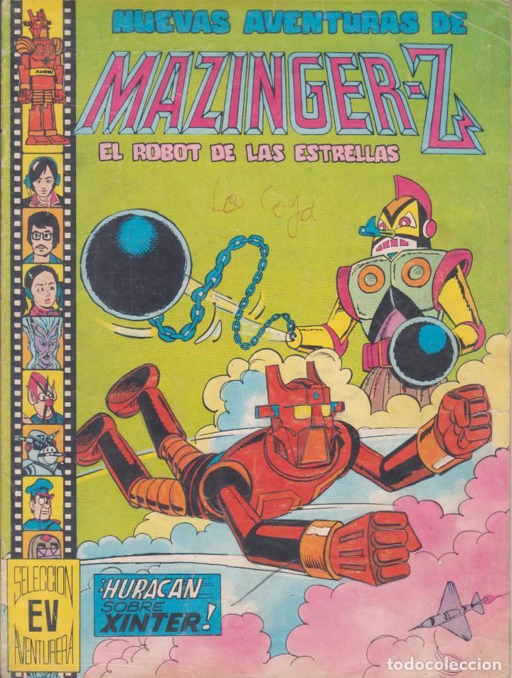 """COMIC """" NUEVAS AVENTURAS DE MAZINGER - Z """" Nº 1 ED. VALENCIANA (Tebeos y Comics - Valenciana - Otros)"""