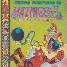 """Tebeos: COMIC """" NUEVAS AVENTURAS DE MAZINGER - Z """" Nº 1 ED. VALENCIANA. Lote 226691690"""