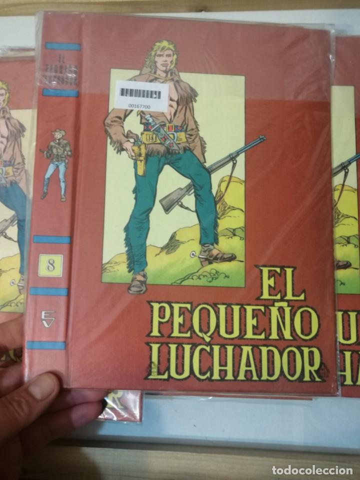 Tebeos: TAPAS DE EL PEQUEÑO LUCHADOR, PARA ENCUADERNAR LA COLECCIÓN COMPLETA. - Foto 2 - 226771225