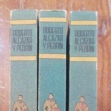 Tebeos: 3 TOMOS DE ROBERTO ALCAZAR Y PEDRIN.. Lote 226842740