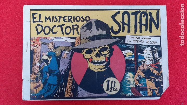EL MISTERIOSO DOCTOR SATAN VALENCIANA ANTIGUO ORIGINAL CT3 (Tebeos y Comics - Valenciana - Otros)