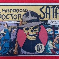 Tebeos: EL MISTERIOSO DOCTOR SATAN VALENCIANA ANTIGUO ORIGINAL CT3. Lote 226857500