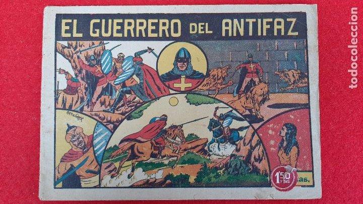 EL GUERRERO DEL ANTIFAZ Nº NUMERO 1 VALENCIANA ANTIGUO ORIGINAL CT3 (Tebeos y Comics - Valenciana - Otros)