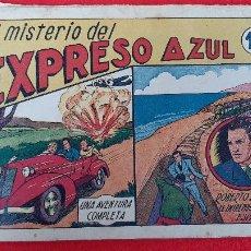 Tebeos: ROBERTO ALCAZAR Nº 3 EL MISTERIO DEL EXPRESO AZUL VALENCIANA ANTIGUO ORIGINAL CT3. Lote 226859255