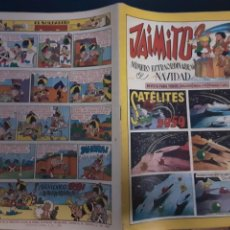 Tebeos: JAIMITO, NUMERO EXTRAORDINARIO DE NAVIDAD, SATELITES 1959, ORIGINAL. Lote 226873625