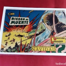 Tebeos: COLECCION COMANDOS Nº 47 -ORIGINAL-EXCELENTE ESTADO-1960. Lote 226906295