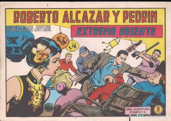 ROBERTO ALCAZAR Y PEDRIN Nº 1193: EXTREMO ORIENTE (Tebeos y Comics - Valenciana - Roberto Alcázar y Pedrín)