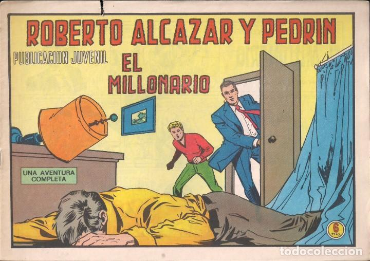 ROBERTO ALCAZAR Y PEDRIN Nº 1203: EL MILLONARIO (Tebeos y Comics - Valenciana - Roberto Alcázar y Pedrín)
