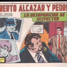 Tebeos: ROBERTO ALCAZAR Y PEDRIN Nº 1207: LA DESAPARICIÓN DE UN INSPECTOR. Lote 227490360