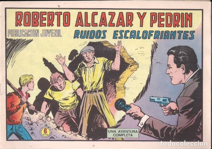 ROBERTO ALCAZAR Y PEDRIN Nº 1208: RUIDOS ESCALOFRIANTES (Tebeos y Comics - Valenciana - Roberto Alcázar y Pedrín)
