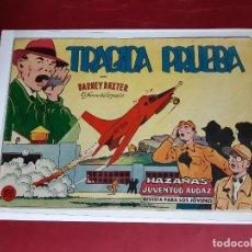 Tebeos: BARNEY BAXTER Nº 10 - EDITORIAL VALENCIANA 1960-EXCELENTE ESTADO. Lote 227570545