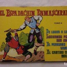 Tebeos: EL ESPADACHIN ENMASCARADO TOMO 4. Lote 227588420