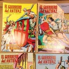 Tebeos: GRAN LOTE DE 20 COMICS DE EL GUERRERO DEL ANTIFAZ 1975. Lote 227864565