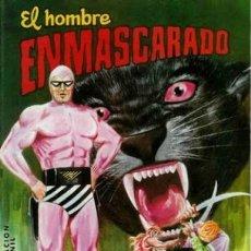Tebeos: EL HOMBRE ENMASCARADO-COLOSOS DEL CÓMIC- Nº 38 -EL COMANDANTE DESCONOCIDO-1981-DIFÍCIL-LEAN-4119. Lote 228190365