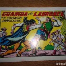 Tebeos: EL ESPADACHIN ENMASCARADO Nº47 - SEGUNDA EDICION.. Lote 228264365