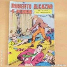 Tebeos: ROBERTO ALCAZAR Y PEDRIN - SVIMTUS EN LONDRES. VALENCIANA. NUM 7. Lote 228283875