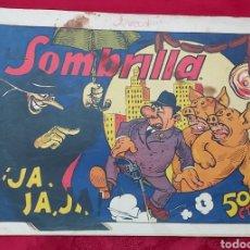 Tebeos: TEBEO LA SOMBRILLA JA JA JA. N°1 DE 1944. EDITORIAL VALENCIANA. Lote 228590805