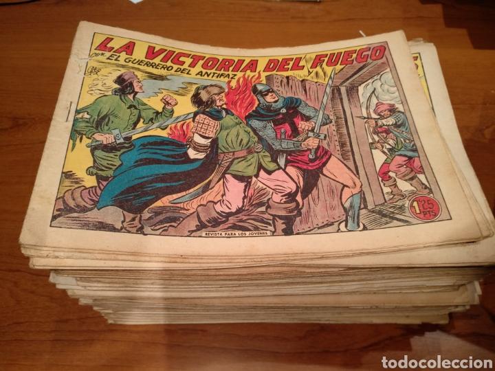 Tebeos: El guerrero del antifaz, originales, lote de 392 numeros. De 1/1,25/1,50 y 2 pesetas - Foto 7 - 228697740