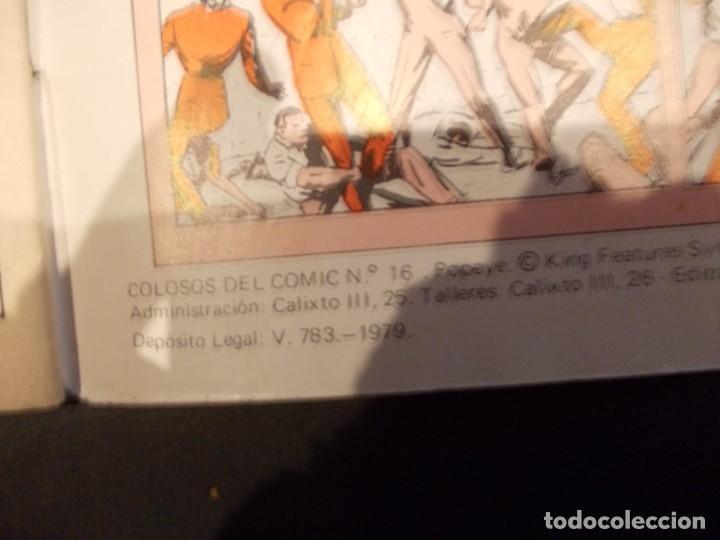 Tebeos: Colosos del comic Popeye nº 8 ed. valenciana 1979 - Foto 5 - 229385760